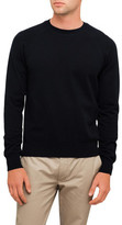 Ami Men Raglan Sleeves Crewneck Sweater
