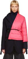 Jacquemus Navy Layered Coat