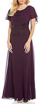 Jessica Howard Mock 2-Piece Lace Dress