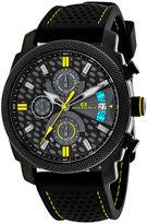 Oceanaut Kryptonite Mens Yellow & Black Rubber Strap Watch