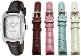 Invicta Black & White Dial Lupah Quartz Three Hand Watch Set