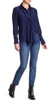 Frame Le High Straight Crop Jean
