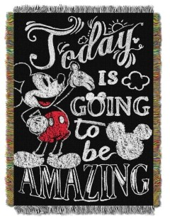 Disney Classic Mickey Mouse Tapestry Throw