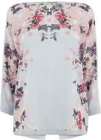 Oasis Kimono Mirror Woven Top
