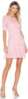M Missoni 3/4 Sleeve Fit & Flare Dress