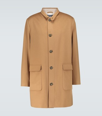 Loro Piana Roadster cashmere coat