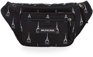 Balenciaga Men's Eiffel Tower Belt Bag