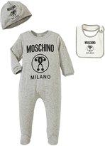 Moschino Gift Box Set (Baby) - Gray - 1/3 Months