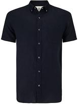 John Lewis End On End Short Sleeve Linen Shirt