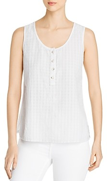 XCVI Quinlan Tonal Striped Tank Top
