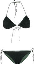 Oseree Speckle Print Bikini Set