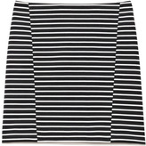 Thakoon Preorder Striped Ponte Knit Seamed Skirt