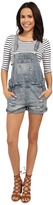 Blank NYC Denim Short Overalls