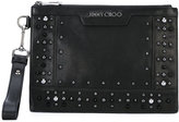 Jimmy Choo Derek clutch - women - Calf Leather - One Size