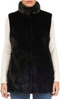 Thumbnail for your product : Gorski Mink-Fur & Silk Taffeta Reversible Vest
