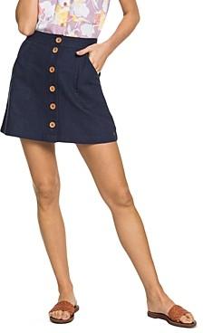 Roxy Oceanside A-Line Skirt