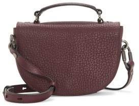 Vince Camuto Aleki Snake-Embrossed Leather Crossbody Bag