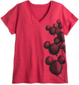 Disney Mickey Mouse Balloons Tee for Women - Plus Size