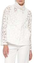 Akris Punto Women's Sheer Dot Jacket