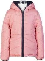 Nautica Little Girls' Solid-To-Dot Reversible Jacket (2T-7)