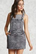 Forever 21 Acid Wash Overall Dress