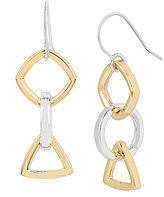 Kenneth Cole New York Geometric Triple-Drop Earrings