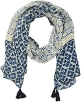 Fat Face Women's Darcy Floral Square Scarf