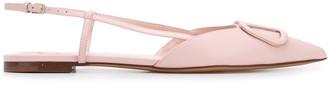 Valentino VLOGO ballerina shoes