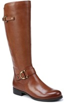 Naturalizer Jillian Leather Wide Calf Riding Boots Women's Shoes