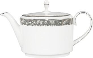 Wedgwood Lace Platinum Teapot