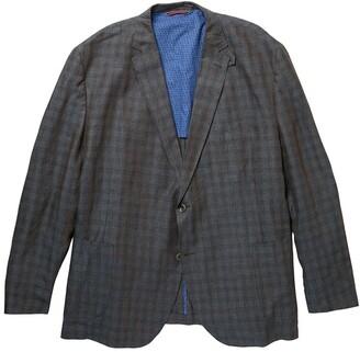 Kroon Bono 2 Plaid Linen Sport Coat