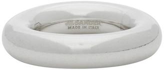 Jil Sander Silver Thick Ring