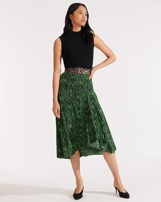 Veronica Beard Ramos Midi Skirt