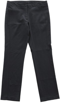 CNC Costume National Black Wool Trousers