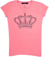 Most Wanted MOST WANTED EMBELLISHED T-SHIRT-PINK SIZE 12