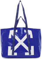 Off-White Off White Blue New Commercial Tote