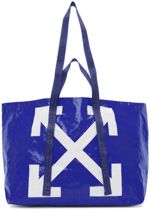 Off-White Blue New Commercial Tote