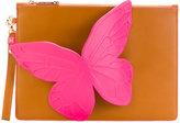 Sophia Webster butterfly clutch - women - Calf Leather - One Size