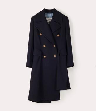 Vivienne Westwood Nutmeg Coat Navy