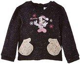 Disney Baby Girls Minnie Mouse NH0064 Sweatshirt