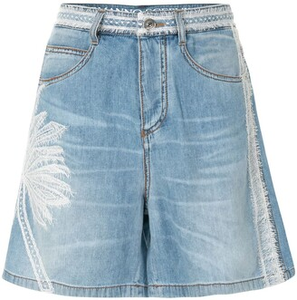Ermanno Scervino Palm Tree Shorts