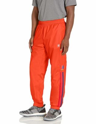 adidas mens 3D Trefoil 3-Stripes Track Pants Black X-Large