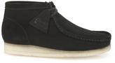 Clarks Originals Wallabee Boots Black Suede