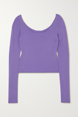 Georgia Alice Pearl Knitted Top - Lilac