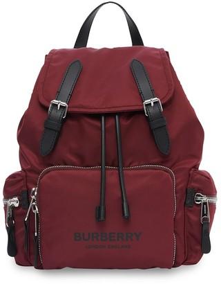 Burberry The Medium logo-print backpack