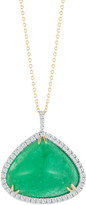 Mateo X Muzo Mateo x Muzo 14K Gold Emerald Necklace