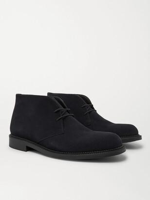 J.M. Weston Suede Desert Boots