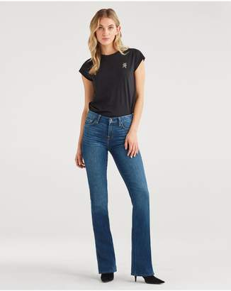 7 For All Mankind Kimmie Bootcut In Echo Lake