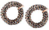 Michael Kors Pavé Twist Huggie Earrings