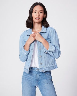 Paige Rowan Jacket Puff Sleeves-Santee Stripe